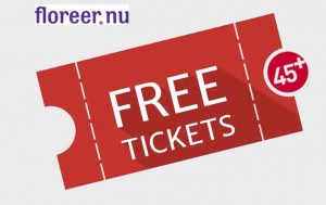 Free ticket Floreer.nu 45plus